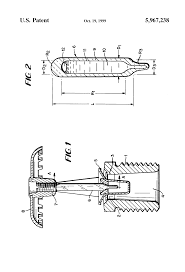 patent us5967238 thermally responsive frangible bulb