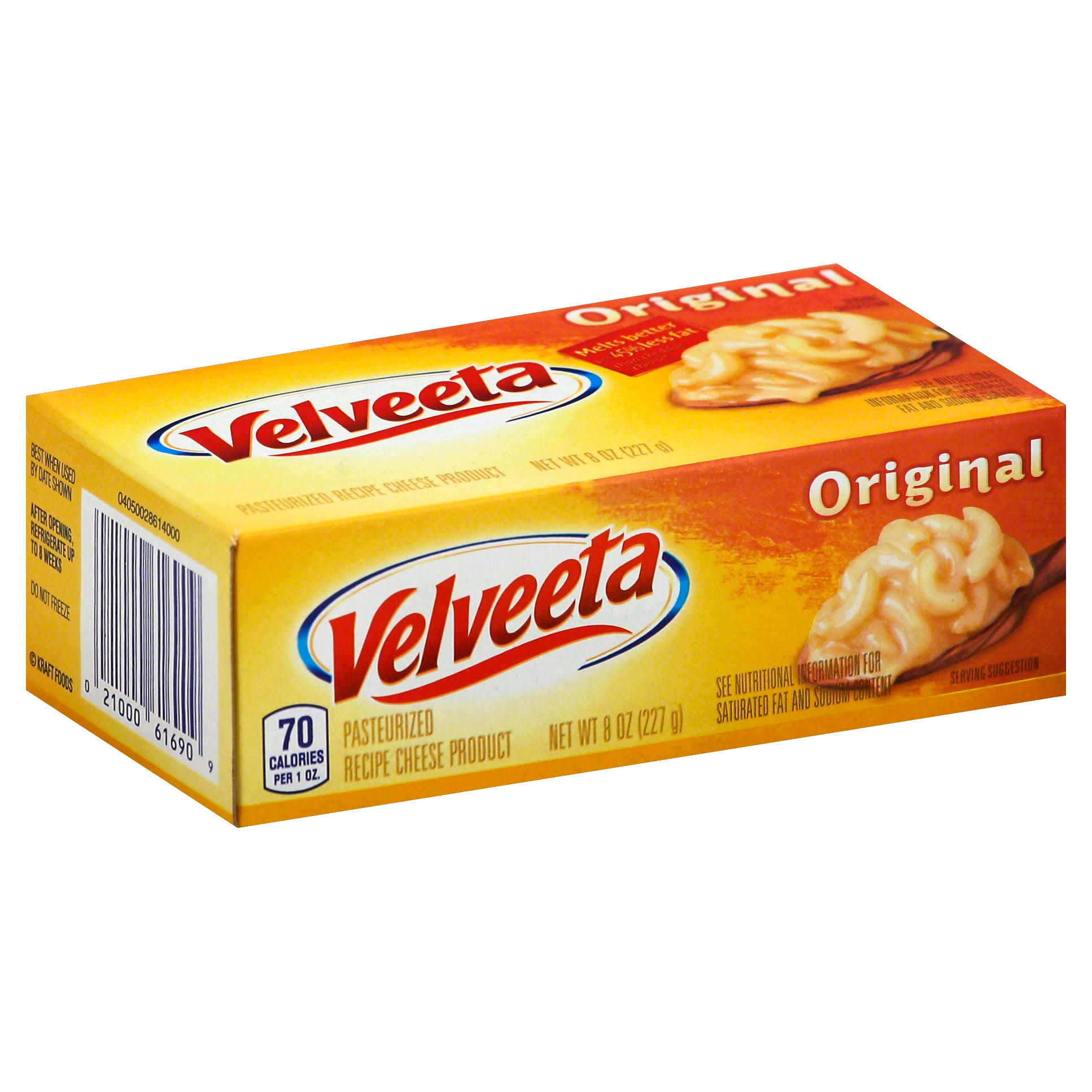 Kraft Velveeta Cheese Loaf - 8oz, 12pk