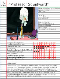 Spongebob That Sinking Feeling Youtube by Spongebob Atrocity Scorecard By Mrenter On Deviantart