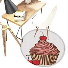 Amazon.com: Cupcake Round Area Carpet,Delicious Cake With ... The Frosted Chick Bakery Darn Delicious Dessert Tables Vanilla Cupcake Tina Villa Inflated Decor Inflatable Cupcake Chair Table Set With Cake And Cupcakes For Easter Brunch Suar Wood Solid Slab German Ding Table Sets Fniture Luxury With Chairs Buy Luxurygerman Fnituresuar Jasmines Desk Queen Flickr 6 Color 12 Inch Iron Metal Round Cake Stand Rustic Cupcake Stand Large Amazoncom Area Carpetdelicious Chair Pads 2 Piece Set Colorful Pops On Boy Sitting At In Backery Shop Sweets Adstool Chairs