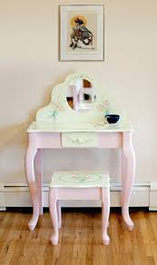 little girl vanity and chair home vanity decoration