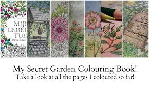 My Secret Garden Colouring Book