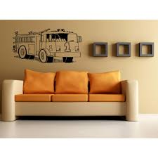 100 Fire Truck Wall Art Shop Truck 1 Sticker Decal Free Shipping On Orders