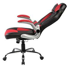 Reclining Gaming Chair With Footrest by Amazon Com Merax High Back Ergonomic Pu Leather Racing Chair