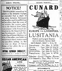 the sinking of lusitania is it all german s fault christie in