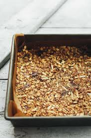 Crunchy Baked Granola Bars | Minimalist Baker Recipes Best 25 Granola Bars Ideas On Pinterest Homemade Granola 35 Healthy Bar Recipes How To Make Bars 20 You Need Survive Your Day Clean The Healthiest According Nutrition Experts Time Kind Grains Peanut Butter Dark Chocolate 12 Oz Chewy Protein Strawberry Bana Amys Baking Recipe