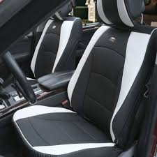 BESTFH: Car SUV Truck PU Leather Seat Cushion Covers Front Bucket ... Ranger F100 1961 To 1966 Ford Truck Bucket Seat Brackets 23111 Autotecnica Pu Leather Sports Seats Brand New Car Ute 4wd Fh Group Universal Fit Flat Cloth Pair Cover Black The Drift Speedhunters For Dogs And Pets Cars Trucks Suvs Grey Replacement F150 Harley Rear 1997 2000 Rare 61 62 63 Ford Thunderbird Bucket Seats Power Rat Rod Hot Baja Blanket Automobile Protector C10 Chevy Install A Split 6040 Bench 7387 R10