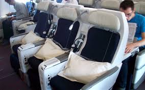 siege premium economy air review of air flight from washington to in premium eco