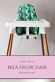 Our Ikea High Chair Makeover – Of The Moon