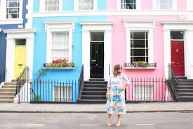 100 Notting Hill Houses On The Pastel Streets Of