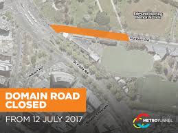 100 Domain Road Metro Tunnel On Twitter From Today Will Be Closed