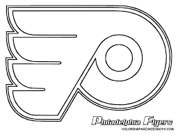 NHL Logo Coloring Pages