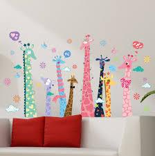 Tree Wall Decor Ebay colorful giraffe sticker for living room wall decor xl9010ab ebay