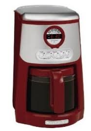 KitchenAid KCM534ER JavaStudio Series 14 Cup Programmable Coffee Maker Empire Red