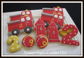 100 Fire Truck Birthday Cake Walmart Truck Pan Topper Party
