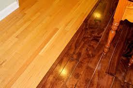 Staining Wood Floors Darker by Plywood Floors