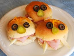 Ideas For Halloween Finger Foods by Halloween Recipe Monster Sandwiches