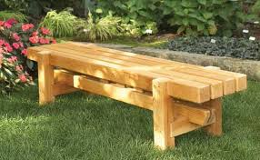 outdoor benches wood treenovation