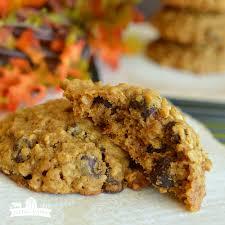 Healthy Chocolate Pumpkin Desserts by Pumpkin Oatmeal Chocolate Chip Cookies Little Dairy On The Prairie