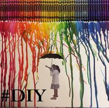 Its Summertime And Many Of Us Are Looking For Ways To Keep Busy Or Our Kids Crayon Art Is A Fun Easy Project That You Can Do