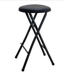 Black Folding Stool Chair 24