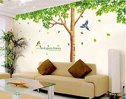 Wall Mural Decals Nature by Sworna Nature Series Large Tree With Birds Kids Nursery Removable