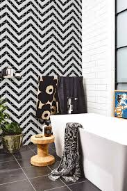 cheap 2 matte black white triangle tile design porcelain