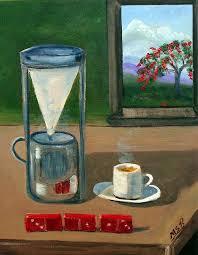 Cuban Coffee Dominos And Royal Poinciana