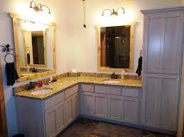Distressed Bathroom Vanity Uk by Bathroom Corner Vanities Space Saver Corner Bathroom Vanity