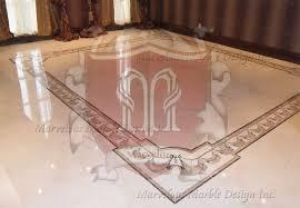 Marble Floor Design In Bedroom G12378 Water Jet Art Works