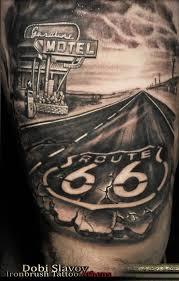 Resultado De Imagen Route 66 Tattoo