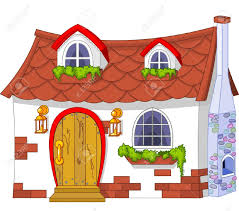 Old House Clipart Cute Cottage 6