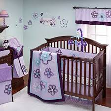 amazon com nojo harmony 8 piece crib bedding set blanket baby