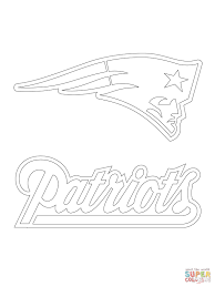 Click The New England Patriots Logo Coloring Pages To View Printable