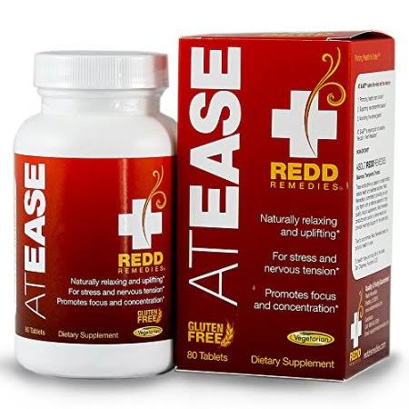 Redd Remedies At Ease Natural Anxiety Relief Supplement - 80 Tablets