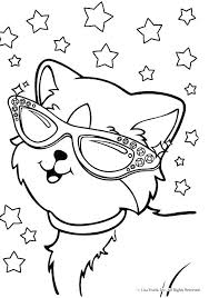 Lisa Franks Coloring Pages Frank Page Of Alive Puppy 7 Unicorn Animal