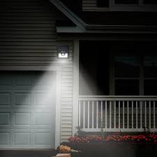 mpow bright 8 led solar powered wireless security light