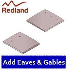 redland rosemary clay plain tile light mixed brindle roofing