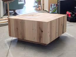 West Elm Inspired DIY Coffee Table