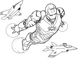 Ironman Coloring Pages Online