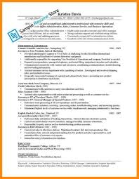 Resume Job Duties Examples Fungram