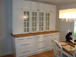 Dining Room Storage Units Using Ikea Lindingo Kitchen Cabinets And Oak Best Designs