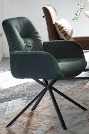 toll kombiniert stuhl mit samt und metallgestell stühle