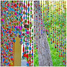 Glass Bead Curtains For Doorways by Beaded Curtains For Doors What I Learned On Night Bohemian