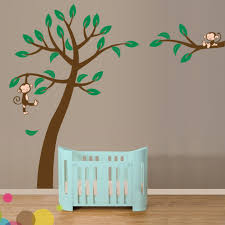 Tree Wall Decor With Pictures by Decoration Ideas Foxy Image Of Baby Nursery Room Decoration Using