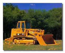 100 Truck Loader Amazoncom Caterpillar Cat 973 Track Wall Picture