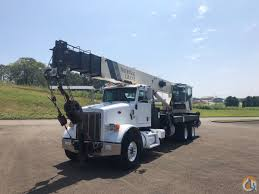 Sold 2011 Peterbilt 367 Boom Truck With National 1800 Series 40 Ton ...