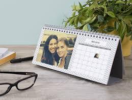 calendrier de bureau personnalisé calendrier de bureau photobox