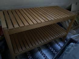 ikea molger badezimmer sitzbank sideboard