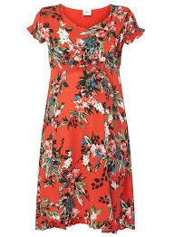 mamalicious red print maternity dress dorothy perkins